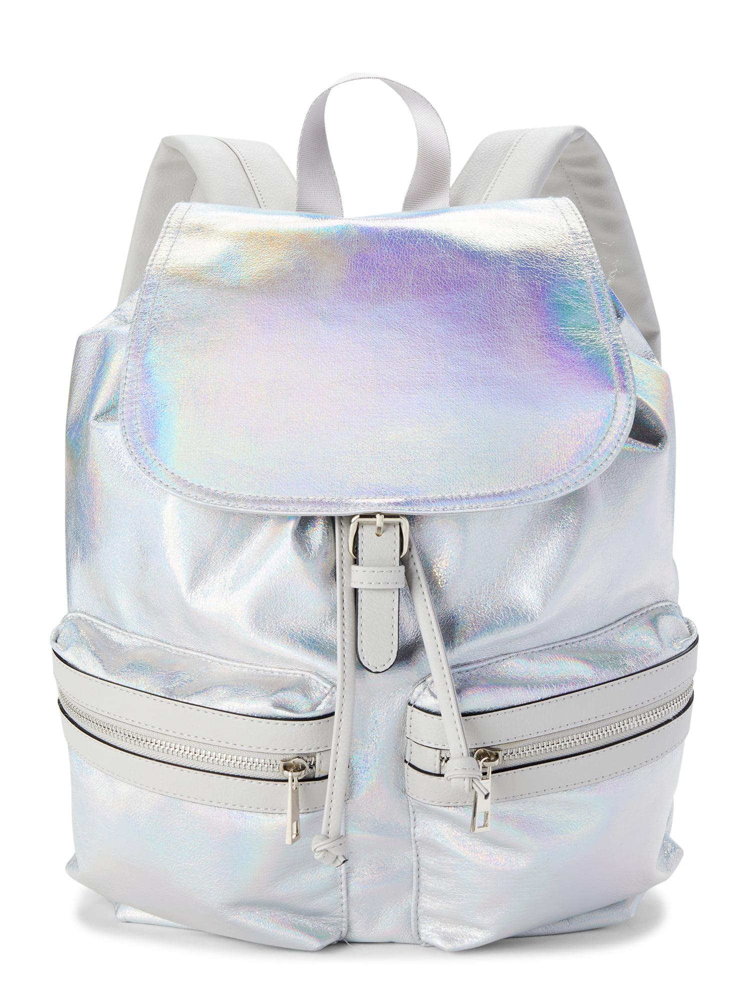 No Boundaries Cargo Backpack, Gray Iridescent