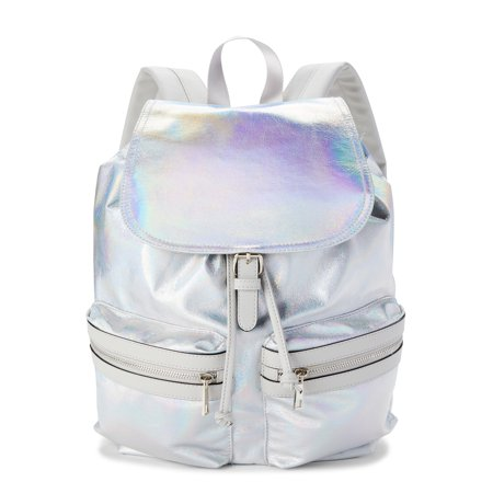 No Boundaries Cargo Backpack, Gray Iridescent