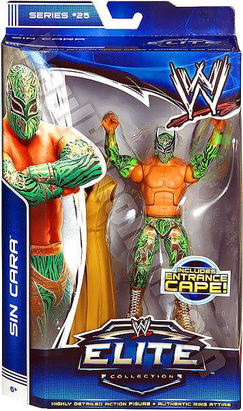 WWE Wrestling Elite Series 25 Sin Cara Action Figure [Entrance Cape] by Mattel, Inc.