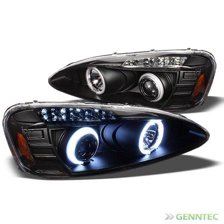 Ccfl Halo Led 2004 2008 Pontiac Grand Prix Headlights Black Head Lights Pair Left Right 2005 2006 2007