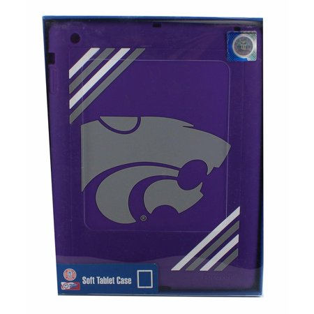 Kansas State University Wildcats NCAA iPad Soft Silcone Tablet Case Ncaa Kansas State Wildcats Pattern