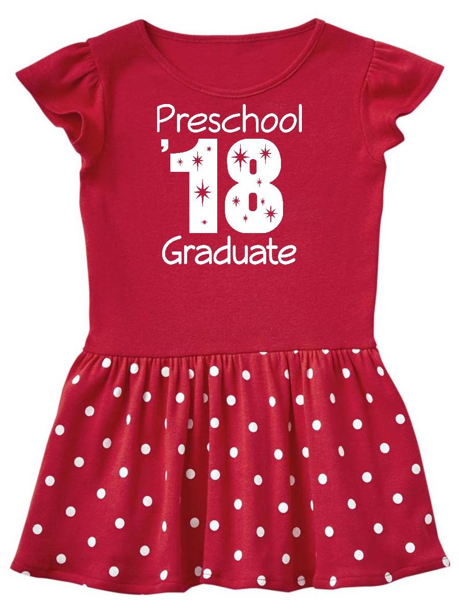 Preschool 2018 School Class Graduation Toddler Dress