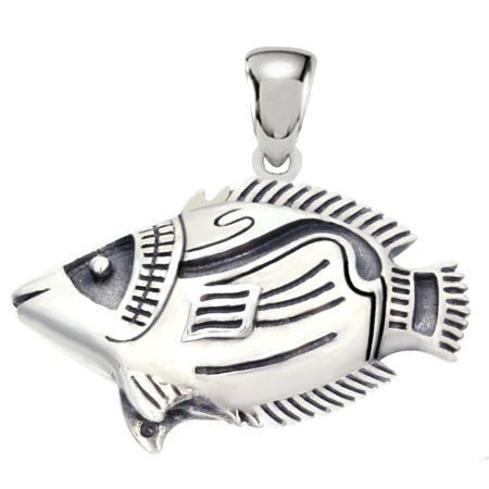 New 0 925 Sterling Silver Raccoon Butterfly Fish Pendant