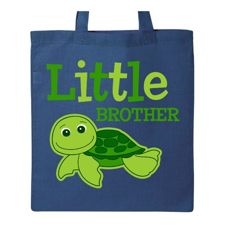 - Turtle Little Brother Tote Bag Royal Blue One Size