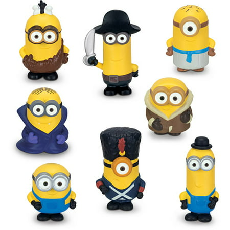 Minions 8-Pack Mini Figure