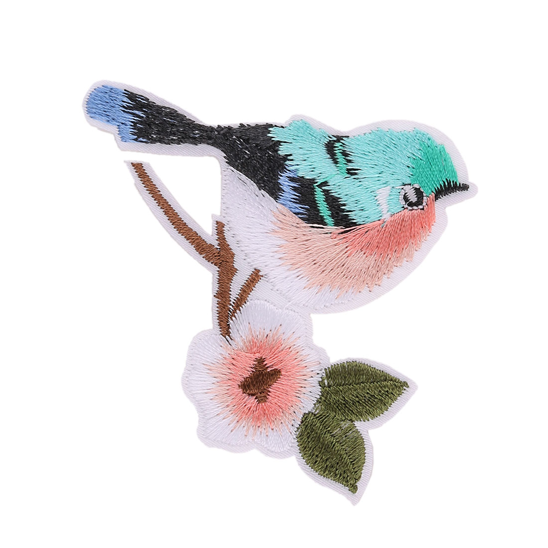 Unique Bargains Family Polyester Bird Pattern Embroidery DIY Coat Dress Decor Lace Applique