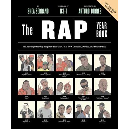 The Rap Year Book : The Most Important Rap Song From Every Year Since 1979, Discussed, Debated, and Deconstructed