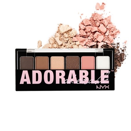 NYX Professional Makeup The Adorable Shadow Palette Adorable - 0.21oz