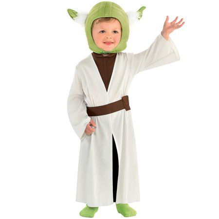 Yoda Baby Halloween Costume (Party City Yoda Halloween Costume for Babies, Star Wars, Includes)
