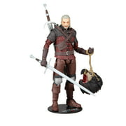 McFarlane Toys The Witcher Geralt of Rivia Wolf Armor - 7 inch Collectible Action Figure