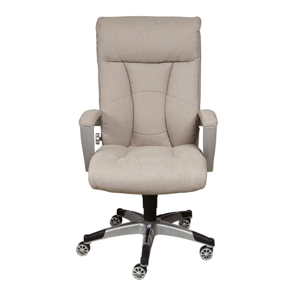 Accentrics Home Sealy Posturepedic Cool Foam Swivel Office Desk Chair, Sandstone by Accentrics Home