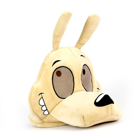 Maskimals Oversized Plush Halloween Mask - - Old School Plastic Halloween Masks