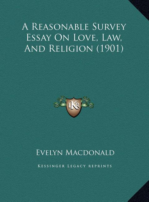 Law and theology thesis