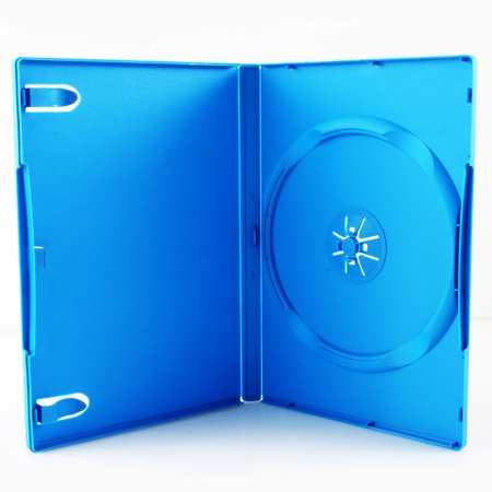 Third Party Media Package - 14mm Single DVD Case For Nintendo Wii U, Baby Blue (Baby Nintendo)