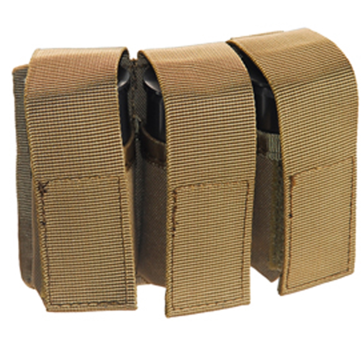 Airsoft 40mm MOLLE M203 Grenade Pouch (TAN) for CA-5xx and CA-60x Grenades by