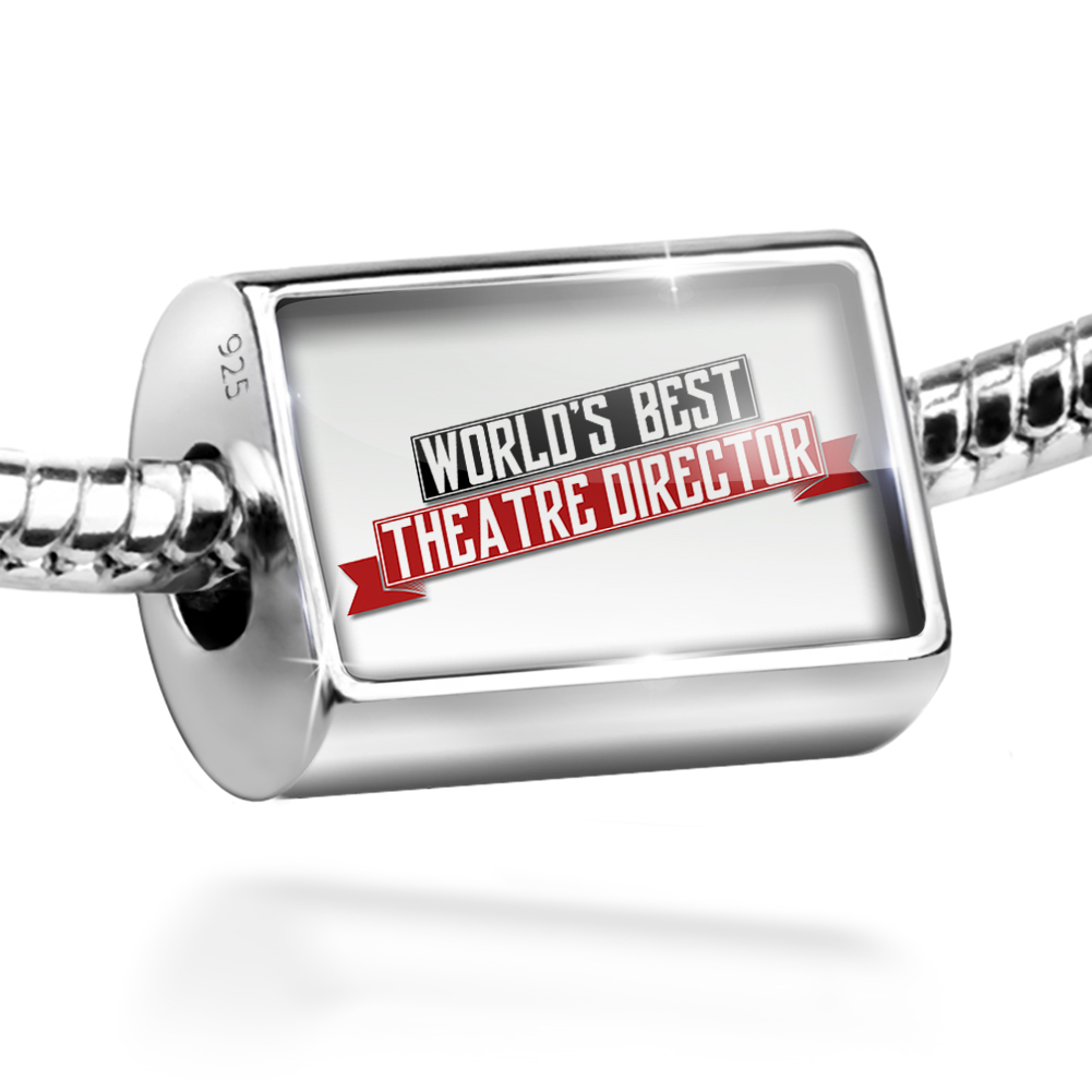Bead Worlds Best Theatre Director Charm Fits All European Bracelets