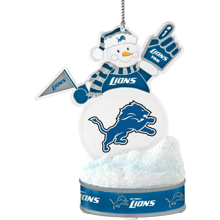 Topperscot by Boelter Brands NFL LED Snowman Ornament, Detroit Lions
