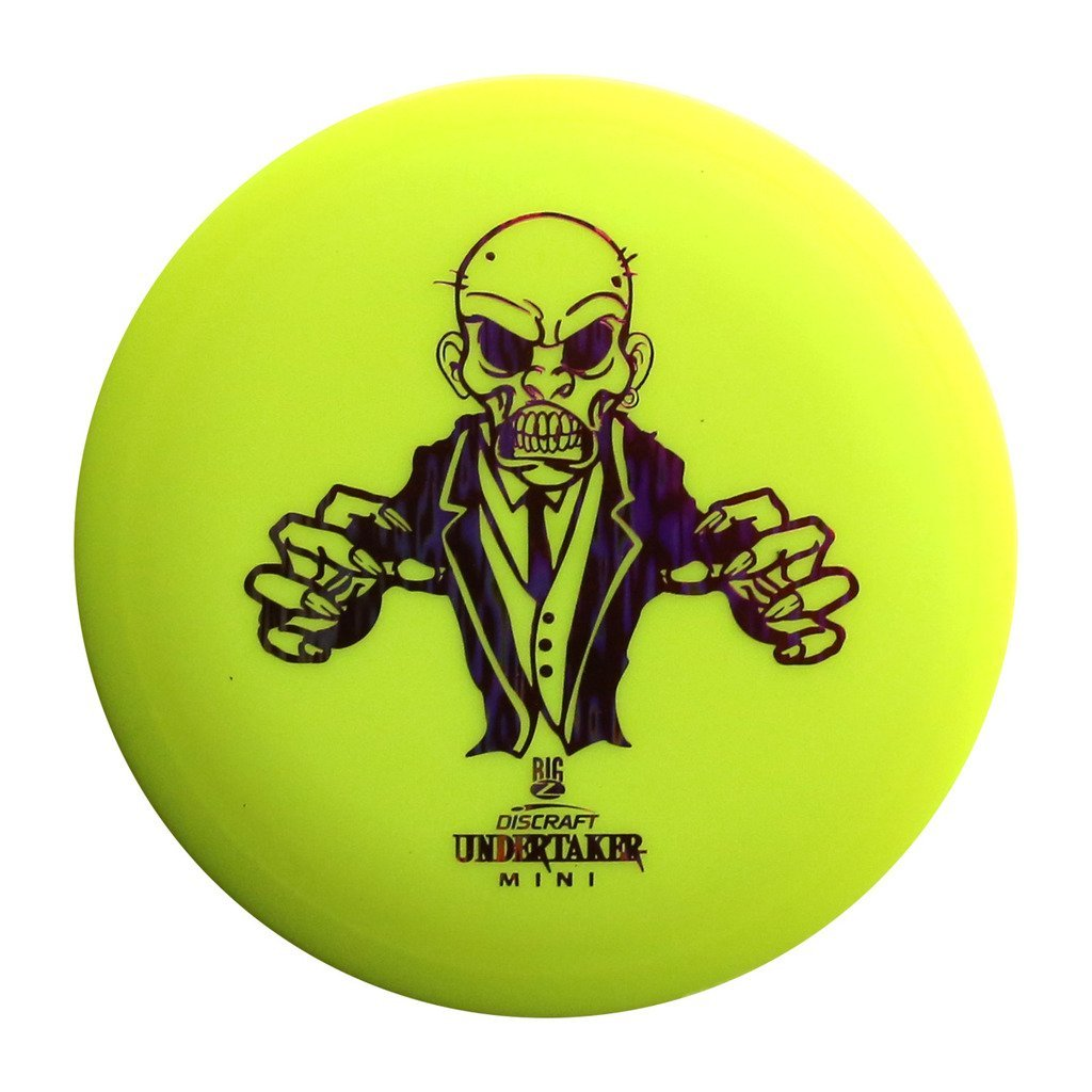 Discraft Mini Big Z Undertaker Disc Golf Mini Marker Disc by Discraft