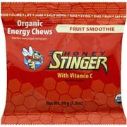Honey Stinger Organic Energy Chews, Fruit Smoothie, 12 Ct