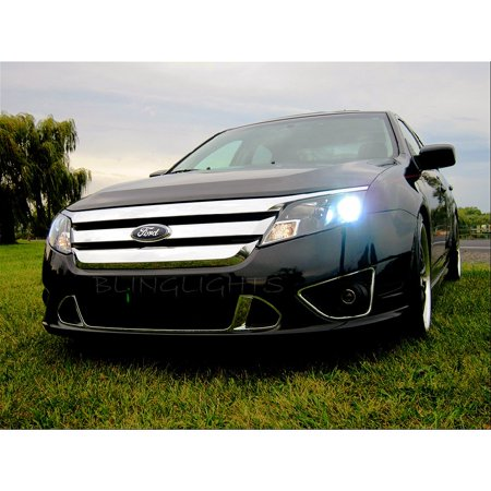 2010 2011 2012 Ford Fusion Bright Light Bulbs For Halogen Headlamps