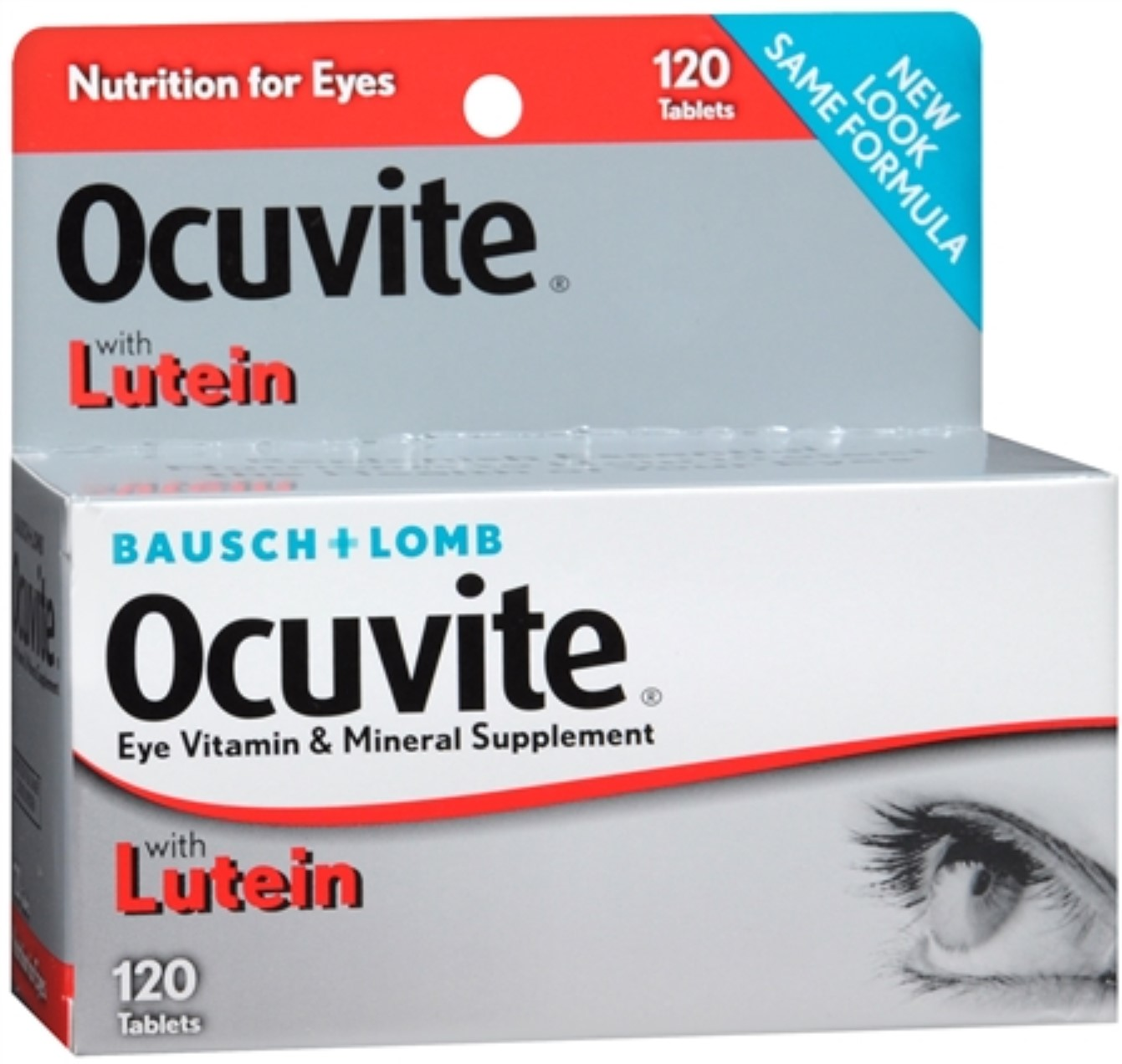 Bausch & Lomb Ocuvite Tablets 120 Tablets (Pack of 2)