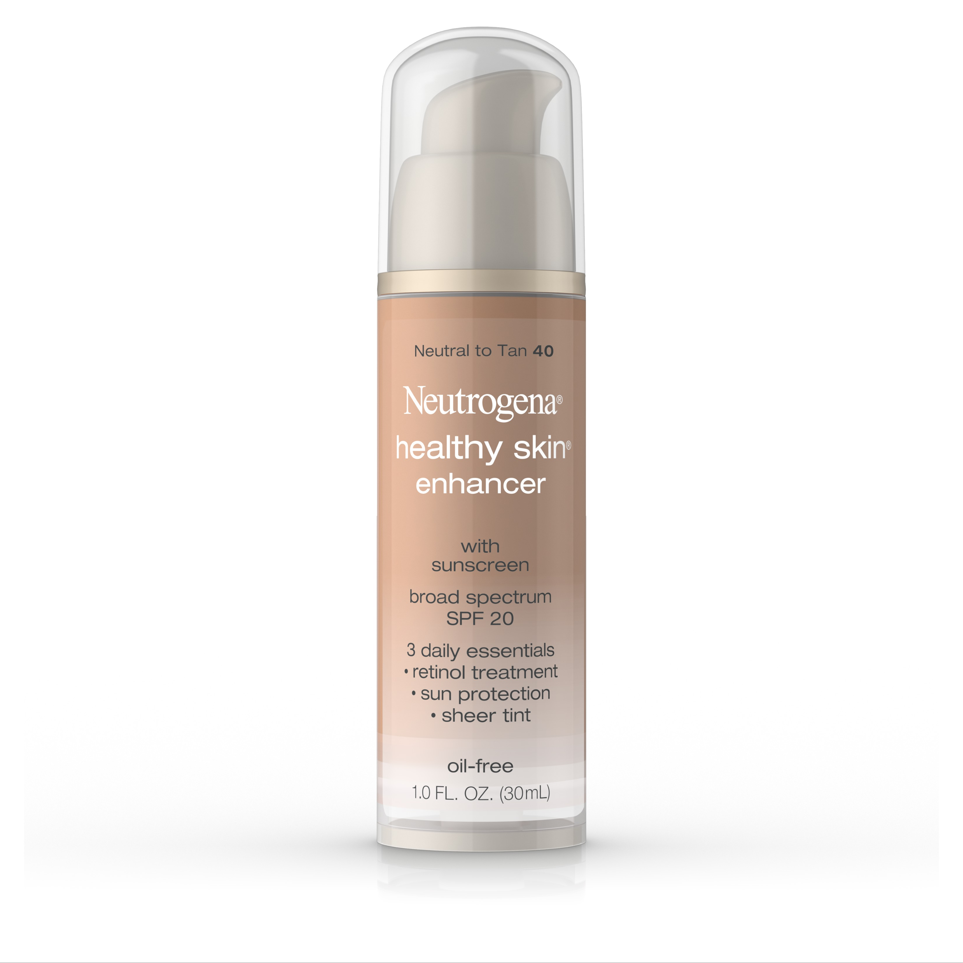 Neutrogena Healthy Skin Enhancer Broad Spectrum SPF 20, Neutral To Tan 40, 1 Fl. Oz - Walmart.com