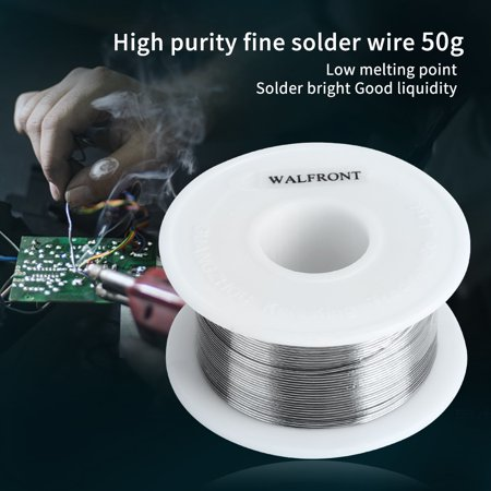 WALFRONT 50g 0.4mm Tin Lead Rosin Core Solder Soldering Wire Sn60/Pb40 Flux 1.2%,Solder Wire, Soldering Wire - image 4 de 9