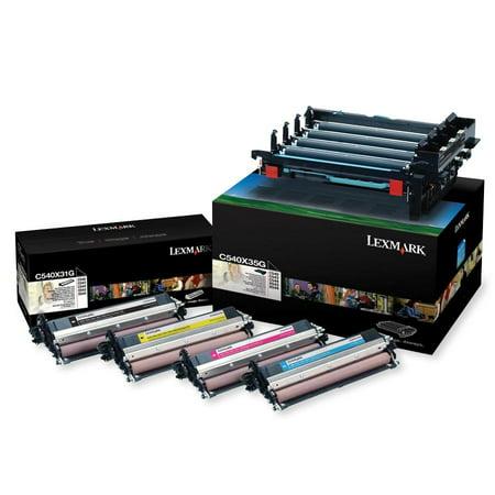 Lexmark C540X74G Black/Color Imaging Kit, 1 Each (Quantity)