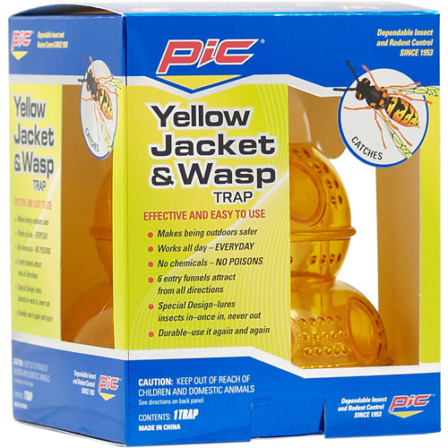 Pic Pest-Free Living Wasp and Hornet Trap, Reusable
