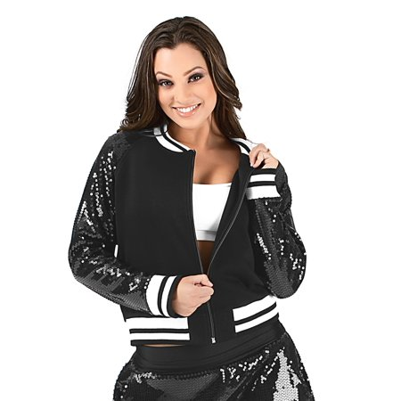 Adult Sequin Varsity Jacket - All Time Low Varsity Jacket
