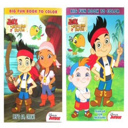 Jake The Pirate Coloring Pages (Disney Jake And The Never Land Pirates