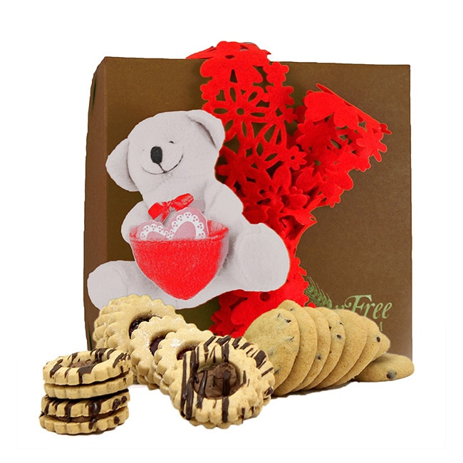 Gluten Free Palace XOXO Valentine's Day Gluten Free Gift Box, Medium