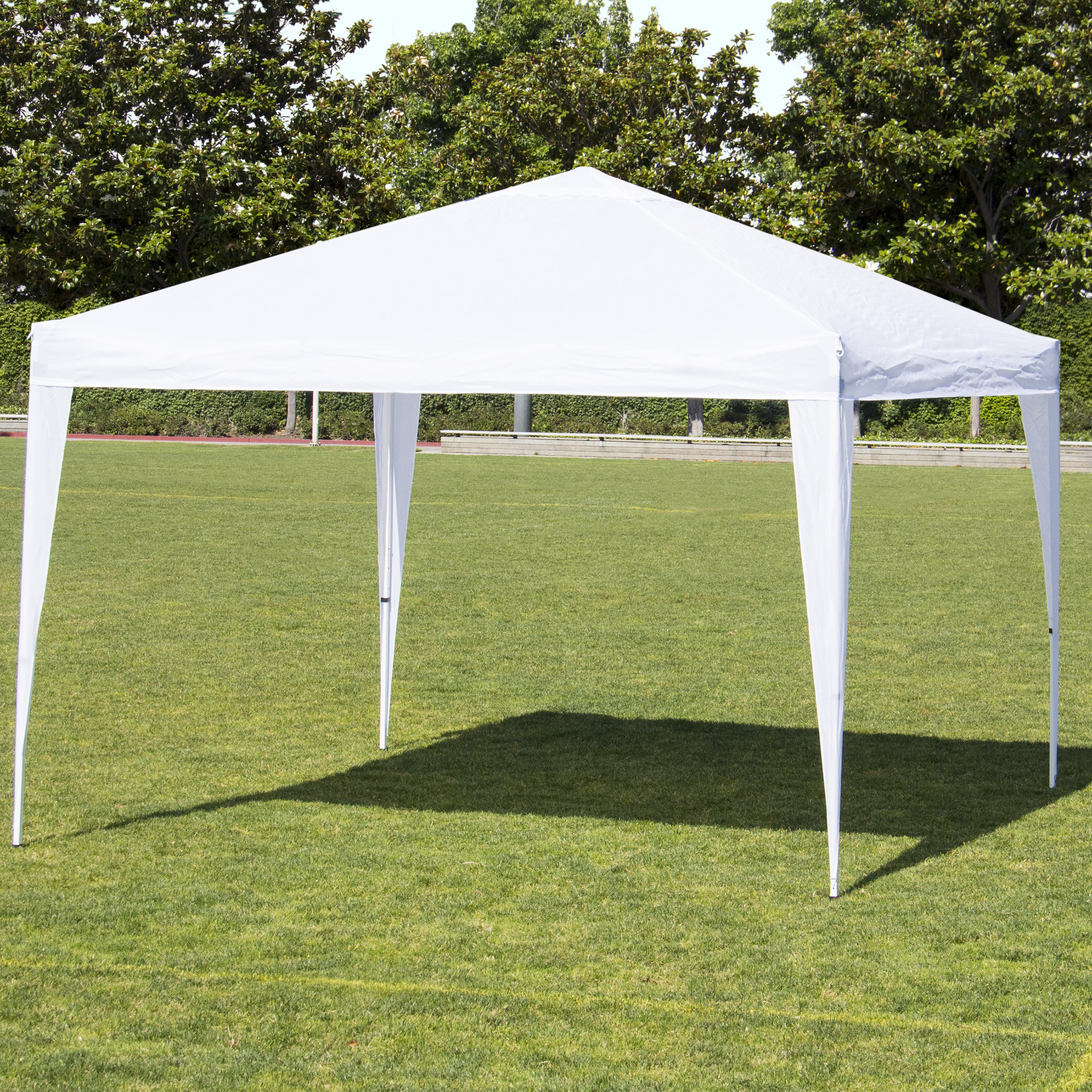 Zimtown Outdoor 10u0027x10u0027 EZ Pop Up Tent Gazebo White Canopy With Carrying Bag & Zimtown Outdoor 10u0027x10u0027 EZ Pop Up Tent Gazebo White Canopy With ...
