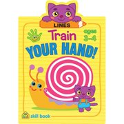 Train Your Hand Skill Book-lines - Ages 3-4