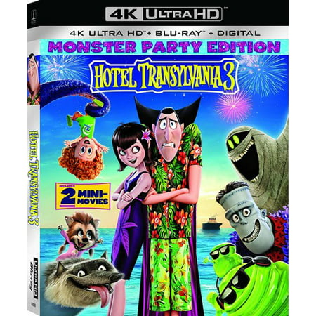 Hotel Transylvania 3: Summer Vacation (4K Ultra HD + Blu-ray + Digital Copy) for $<!---->