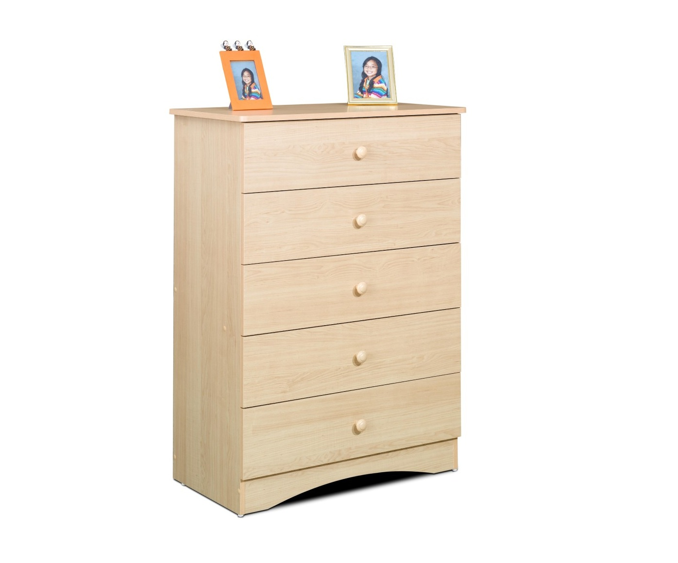 Nexera Alegria 5 Drawer Chest, Maple by Nexera