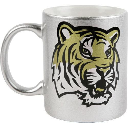 NCAA - LSU Tigers 11 oz. Silver Mug