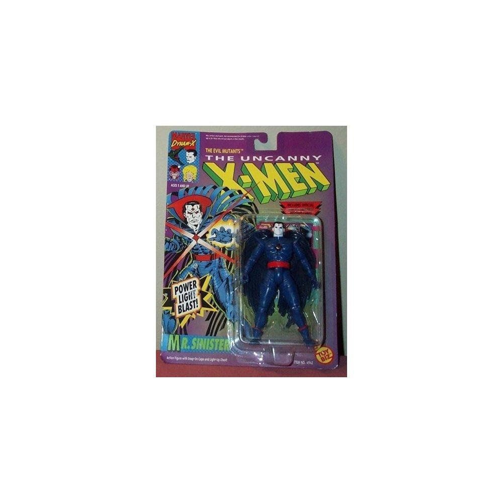 The Uncanny X-Men Mr. Sinister with Power Light Blast Action Figure by