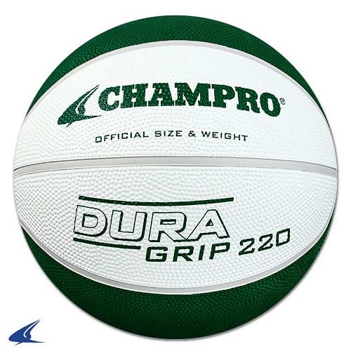 CHAMPRO Super Grip Rubber Basketball Women's White/Green