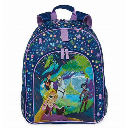 b7b7c36d9b2 Disney - Collection Tangled Rapunzel 15 inch Backpack School Travel ...