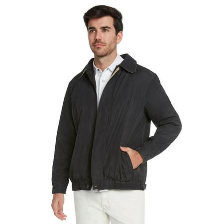 Men's Water Resistant Lightweight Paneled Harrington Jacket by 9 (Best Harrington Jacket Brand)