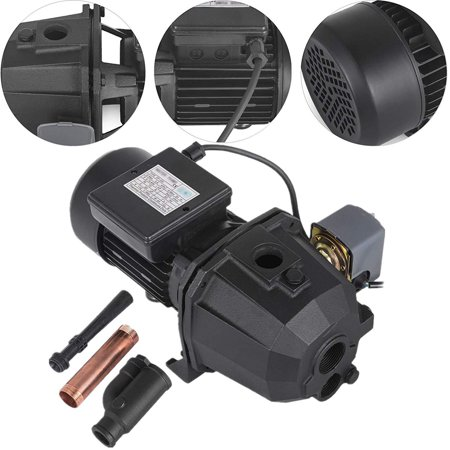 VEVOR 1HP Shallow Well Jet Pump with Pressure Switch Jet Water Pump 183.7 ft Jet Pump Switch