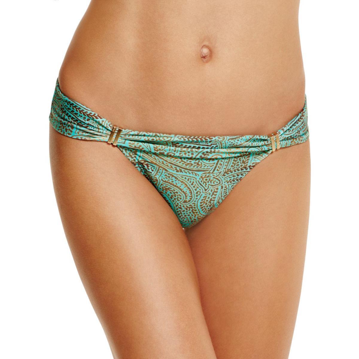 VIX Womens Printed Bikini Swim Bottom Separates
