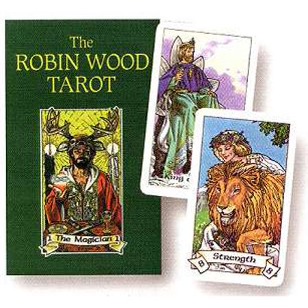 Party Games Accessories Halloween Séance Tarot Cards Robin Wood Tarot by Robin Wood - Best Halloween Party Games For Tweens