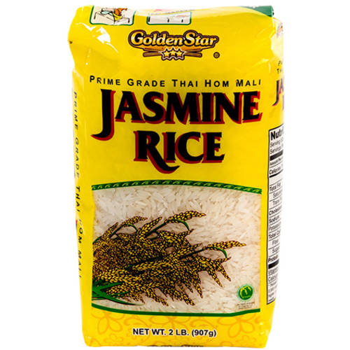 Golden Star Jasmine Rice 2 Lb