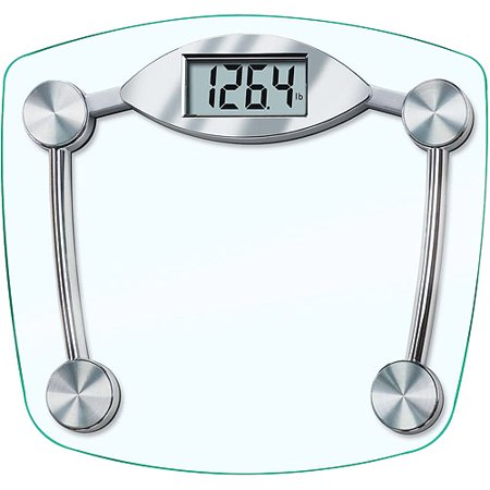 Taylor Model 7506 Glass Electronic Bath Scale Walmart Com