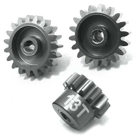 HOT-RACING SLF2389 Aluminum Speed Tuned Pinion Gears 32p .8 (Speedo Pinion)