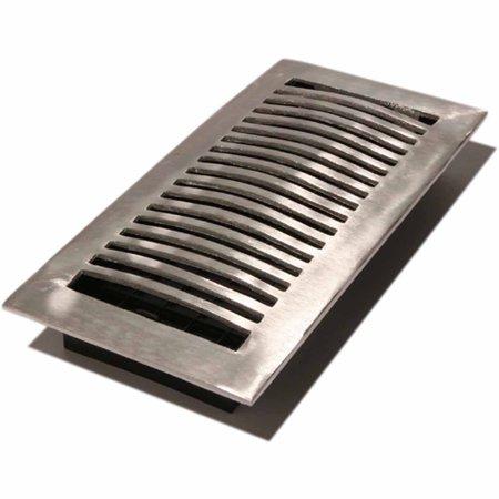 "Decor Grates Louvered Aluminum Register, 4"" x 10"