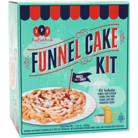 Fun Pack Foods Funnel Cake Recipe
