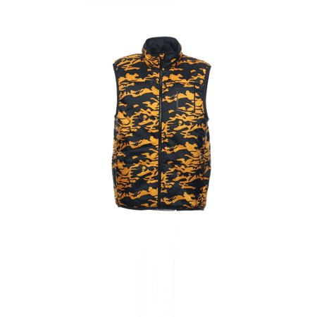 Puma Men's Yellow Camo Insulated - Puma Golf Vest